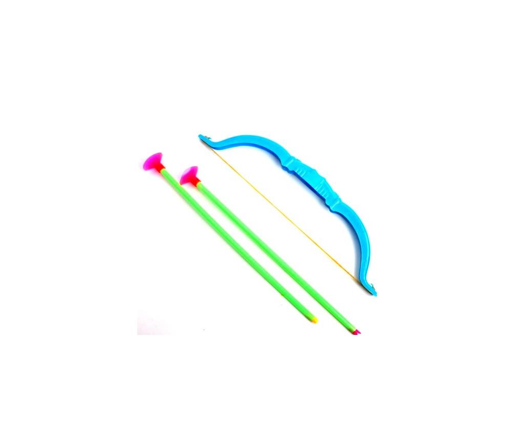 Arc de 25 cm et 2 flèches ventouses