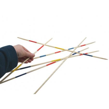 Grand jeu de mikado en bois 50 cm
