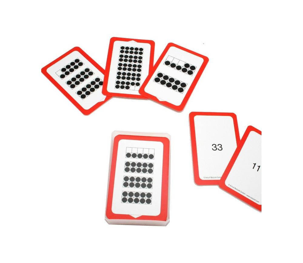 48 cartes à compter - compréhension des nombres