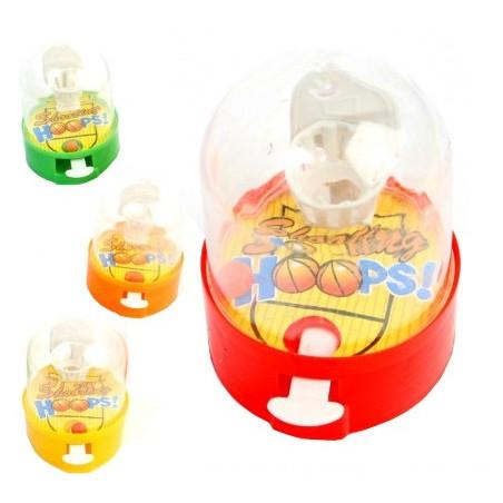 Mini jeu Basket lanceur poussoir 6 cm