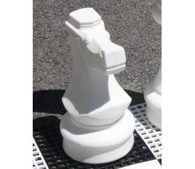 Pion Cavalier 21 cm- Pièce échec vendue à l'unité SAV jeu jardin