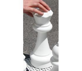 Pion Reine 29 cm - Pièce échec vendue à l'unité SAV jeu jardin