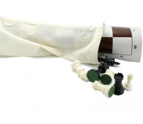 Sac tissu long + 60 x 25 cm coton écru