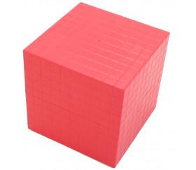Cube millier 10 cm de côté pour base 10