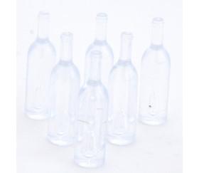 Pion mini bouteille transparente 35 x 9 mm