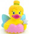 Canard en plastique fée 9 cm - canard de bain