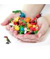 Figurine mini mini Toucan oiseau