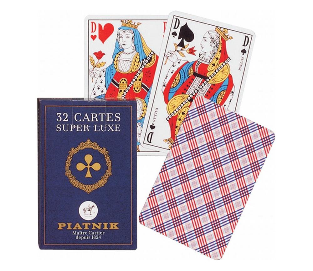 Jeu de cartes Belote 32 cartes Grimaud super qualité