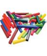 Réglettes cuisenaire - 74 cubes et batonnets bois calcul et jeux - complément 10