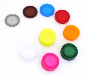300 jetons 3.8 cm plastique coloré translucide pour jeu - diamètre 38 mm