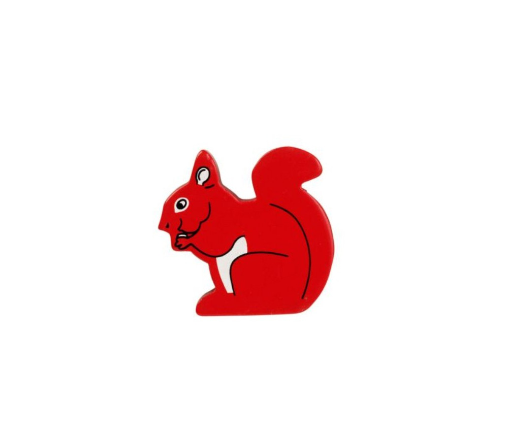 Ecureuil en bois 49 x 48 x 15 mm