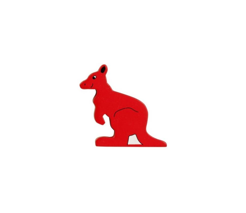 Kangourou en bois 78 x 73 x 15 mm