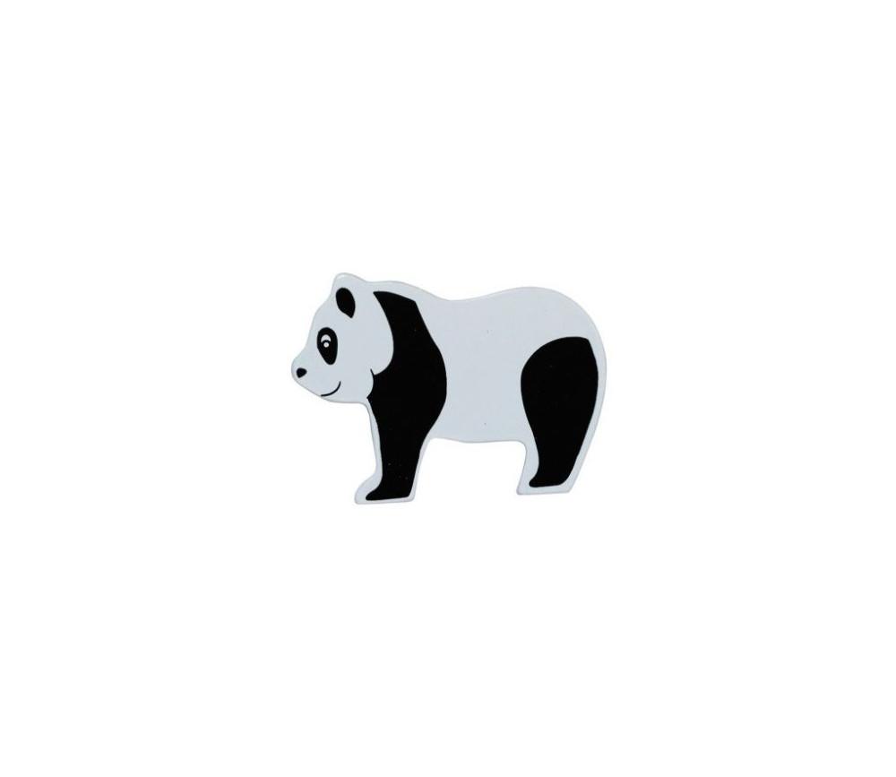 Panda en bois 50 x 69 x 15 mm