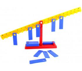 Balance 33 cm avec 20 poids de 10 g