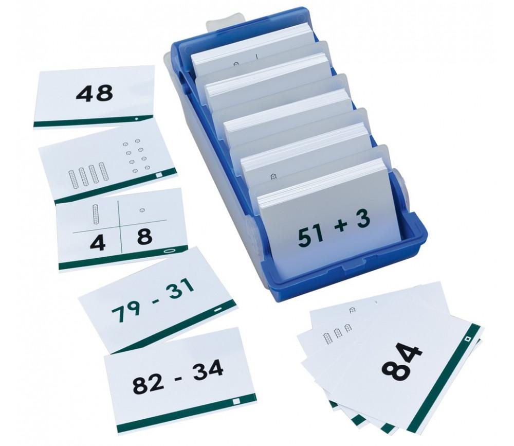 Boite 140 cartes Calcul base 10