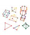 Kit tiges et boules : 330 pièces géométrie en 3 dimensions