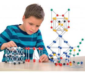Géométrie espace 360 pièces - jeu assemblage boules et de tiges à emboîter