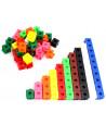 100 pions cubes emboîtables 20 x 20 mm clipsables