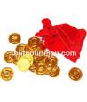 Set 72 Pièces d'or pour vos trésors