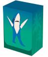 Deckbox Requin Shark Boite plastique 10 x 7.7 x 5.8 cm