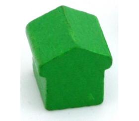 Pion Hôtel grosse maison bois style monopoly 15x15x15 mm