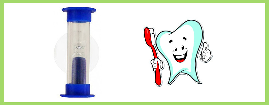 Sablier brossage dents