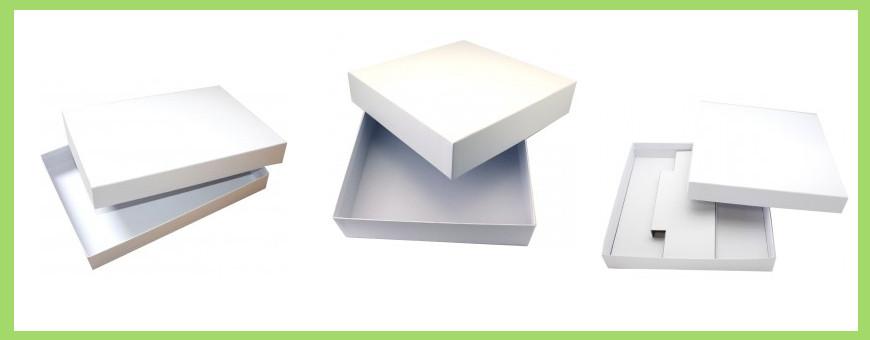 Boite carton blanc