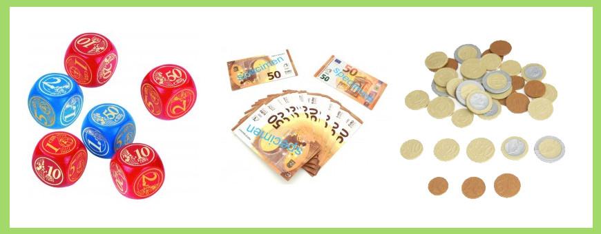 Monnaie pièces et billets