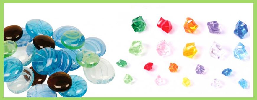 Galets, pierres et gems
