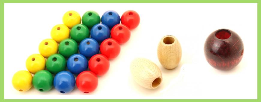 Perles et boules percées