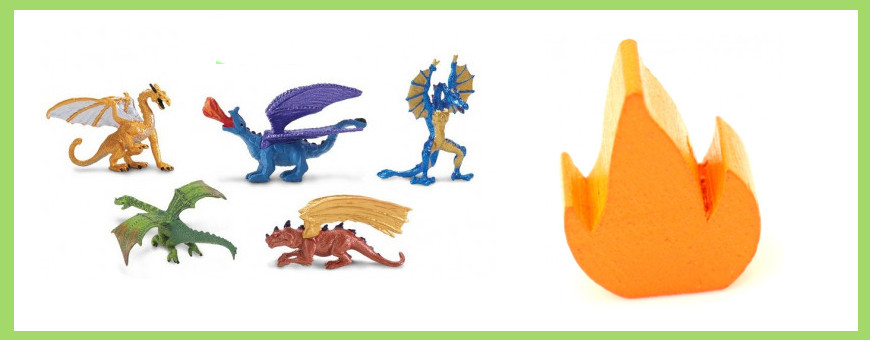 Accessoires Dragons / Monde fantastique