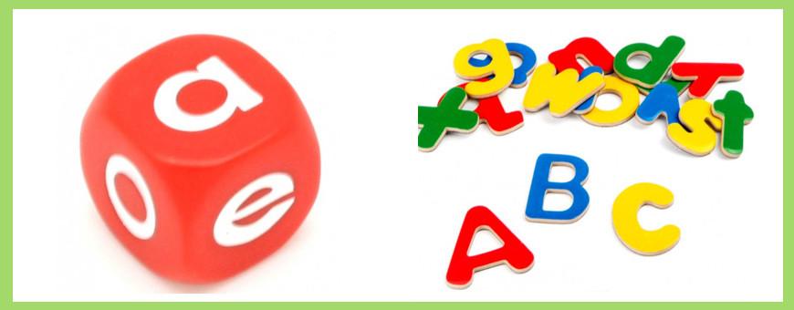 Découverte de l'alphabet