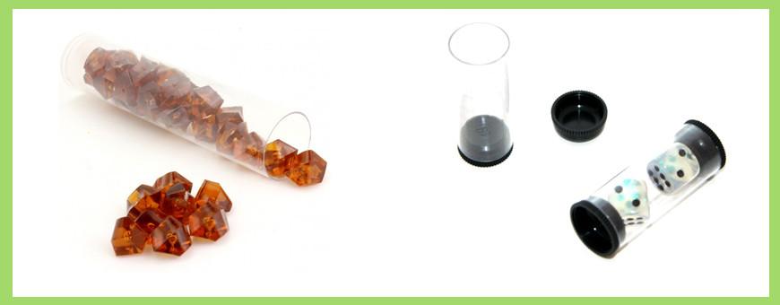 Tube accessoires de jeux