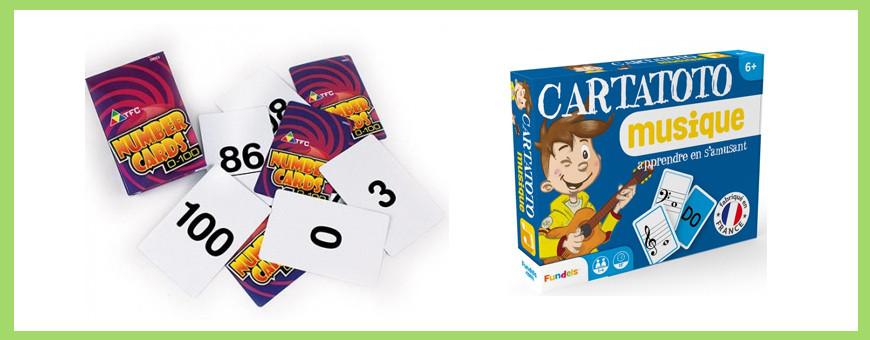 Divers jeux de cartes