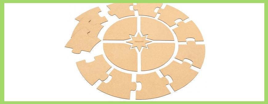 Puzzle blanc à personnaliser