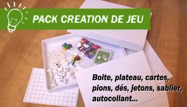 Pack créations de jeux