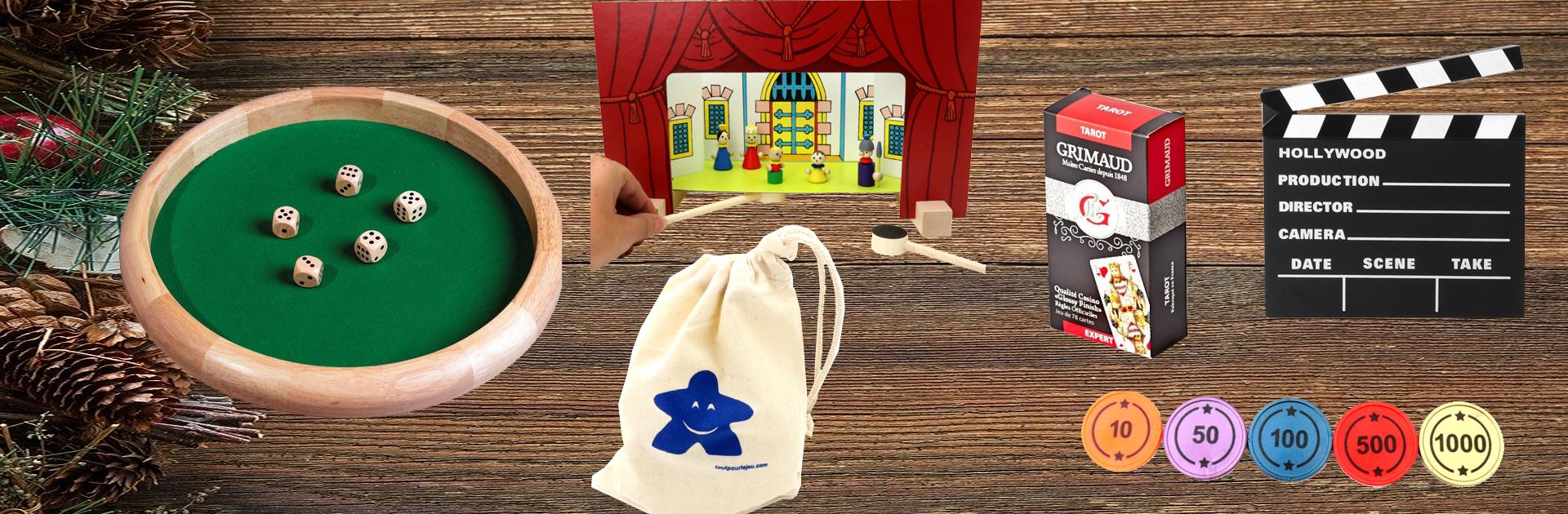 Idées cadeaux accessoires de jeux de Noël